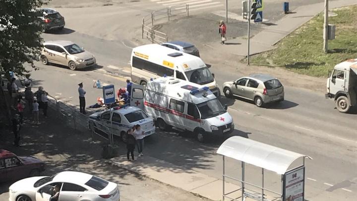 «Шла на зелёный»: десятилетнюю девочку сбили на перекрёстке возле «Ленты» в Челябинске