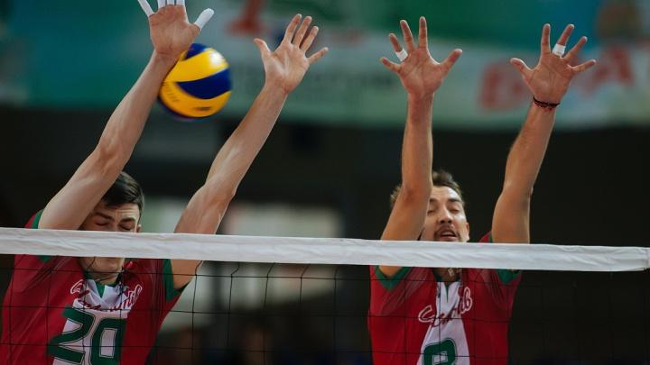 Волейбол: «Локомотив» вышел в групповой этап Лиги чемпионов