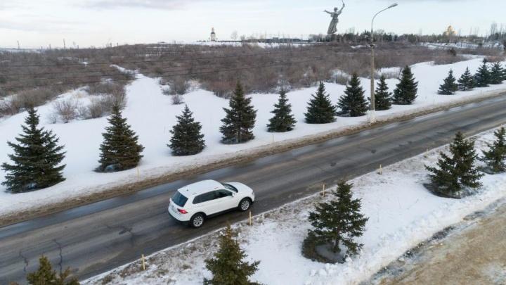 Volkswagen Tiguan Offroad — покоритель волгоградской зимы