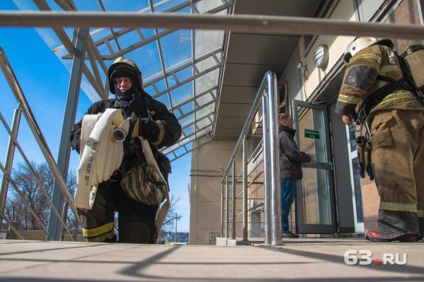 В новом депо будут работать 50 пожарных