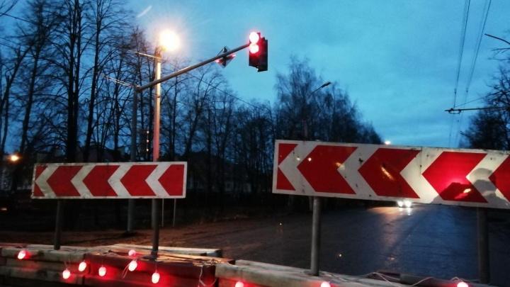 В Ярославле изменят режим работы светофоров в Брагино