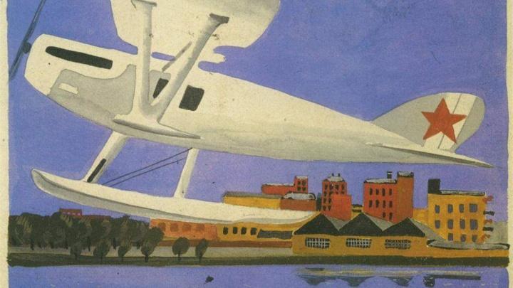 Картины Александра Дейнеки вывезены из Волгограда в «Манеж» Санкт-Петербурга
