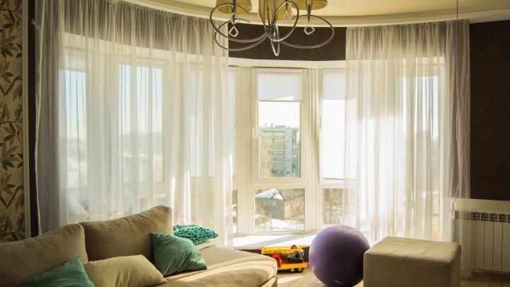 Квартира месяца: трешка-трансформер с панорамным окном