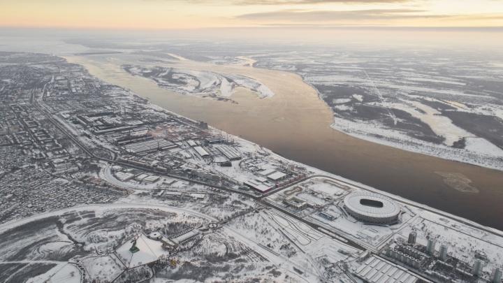 Гидрометцентр: на Волгоградскую область обрушится метель и сильный ветер