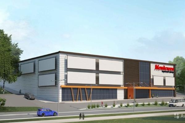 Проект этого торгового центра на Уктусе продают за 90 миллионов рублей