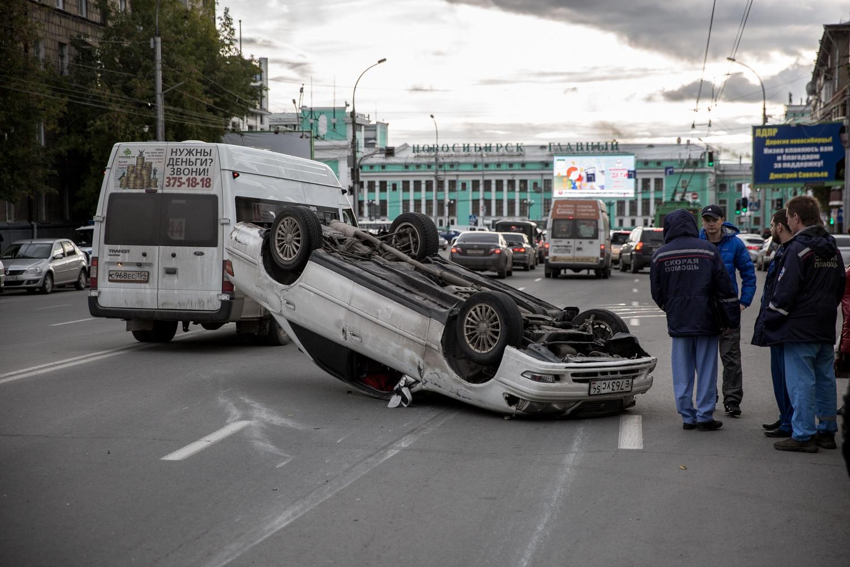 Резкое маневрирование грозит массовыми авариями