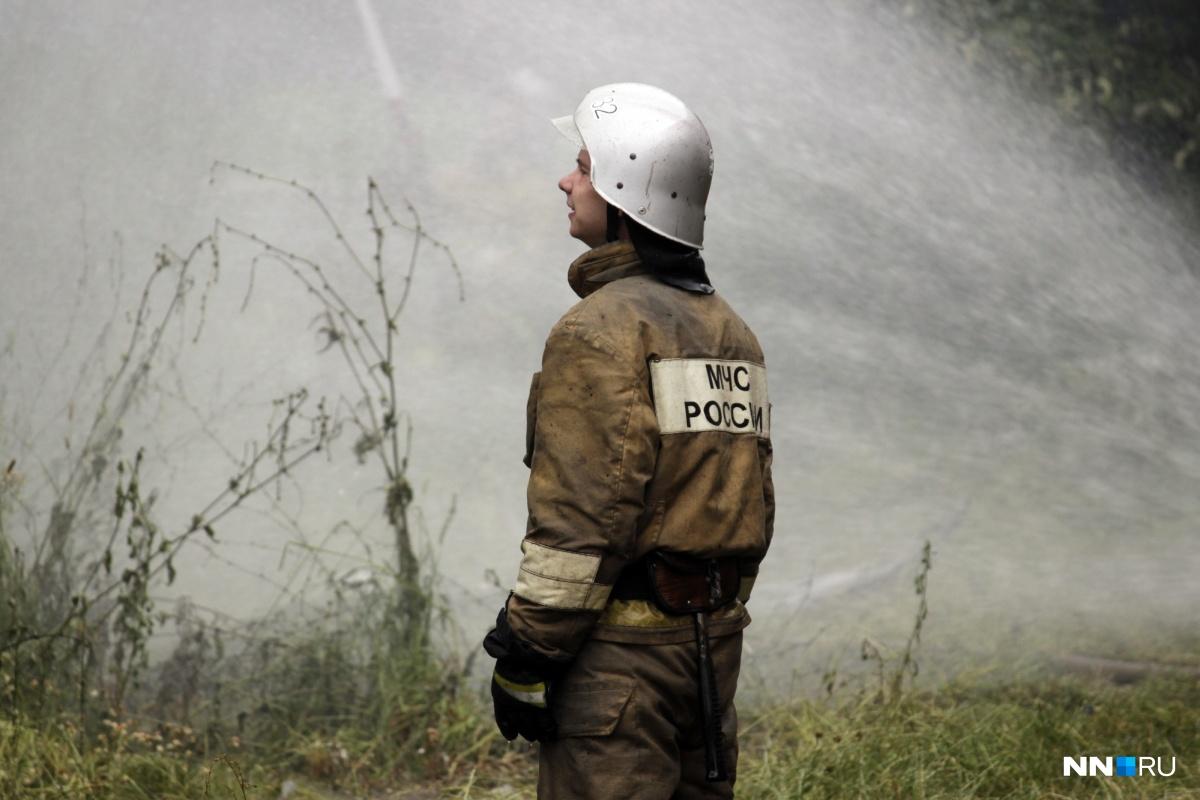 ВНижегородской области 55 человек эвакуировали изгорящего дома