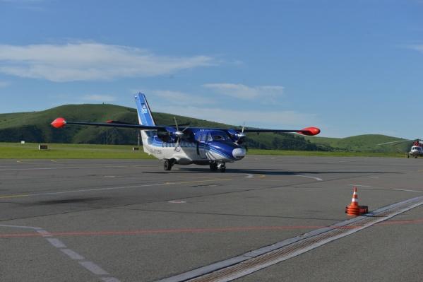 В парке авиакомпании «СиЛА» — самолёты Ан-28 и L-410 (на фото)