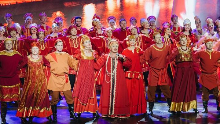 Трансляцию фестиваля «Песни России» из Красноярска смотрели зрители в 13 странах