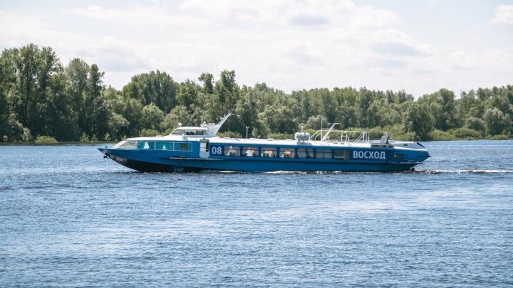В Самаре закрыли скоростные речные перевозки до Ширяево