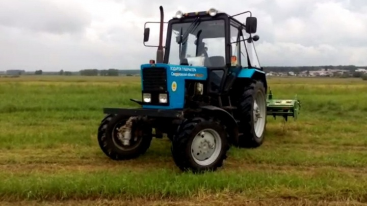 Пьяные механизаторы больше не проблема: в Екатеринбурге испытали беспилотный трактор