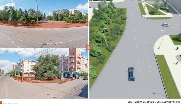 Проекты сквериков на популярных улицах представили красноярцам