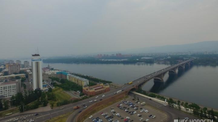 Аномальное загрязнение канцерогенами обнаружили в воздухе Красноярска во время лесных пожаров