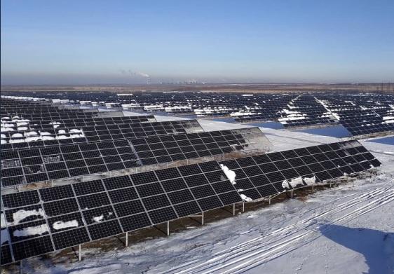 В Самарской области построили крупнейшую в России солнечную электростанцию