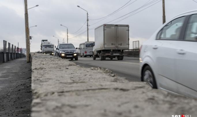 Москва выделила Ростову 118 млн рублей на ремонт моста на Малиновского