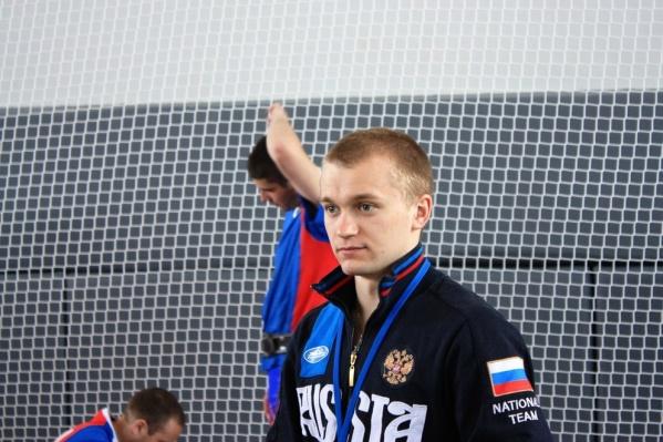 Евгений Бутенко на чемпионате России по гиревому спорту