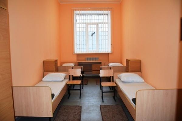 В таких комнатах будут проживать осужденные