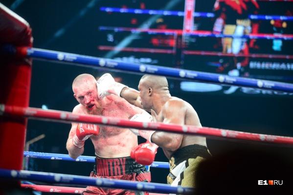 В главном бою вечера россиянин проиграл боксеру из Конго