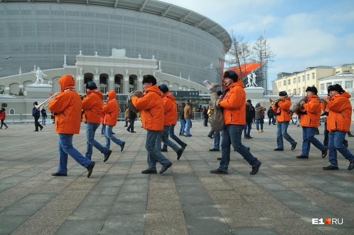Матч «Урал» — «Спартак» начнётся на Центральном стадионе в 16:00
