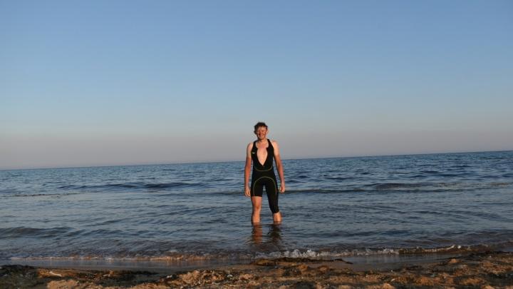 Дёшево, но сложно. Житель Кудымкара доехал до Крыма на велосипеде