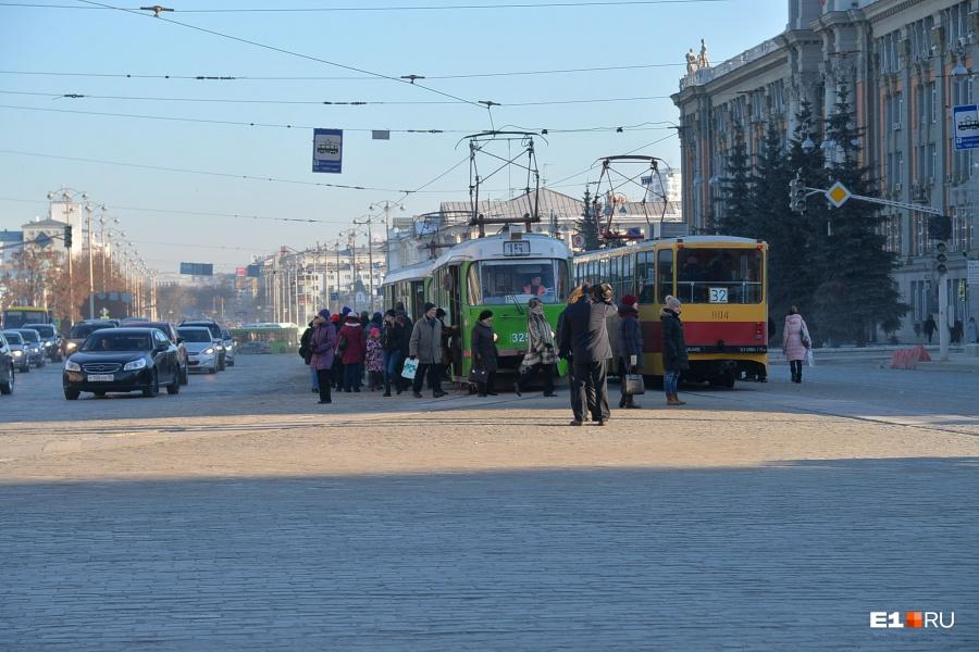 5 новых трамваев в2015-м году планирует закупить мэрия Екатеринбурга