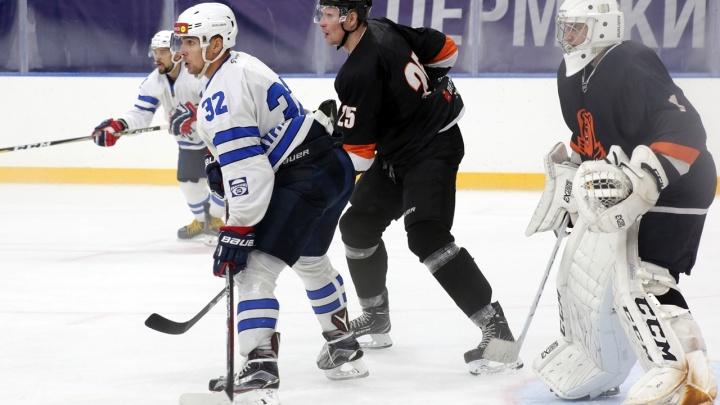 Потерпели поражение от хозяев льда: «Зауралье» провело первую игру «Кубка Прикамья» в Перми