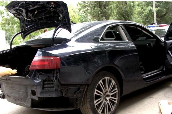 Машину Даниила Брудного нашли во дворе Тракторозаводского района