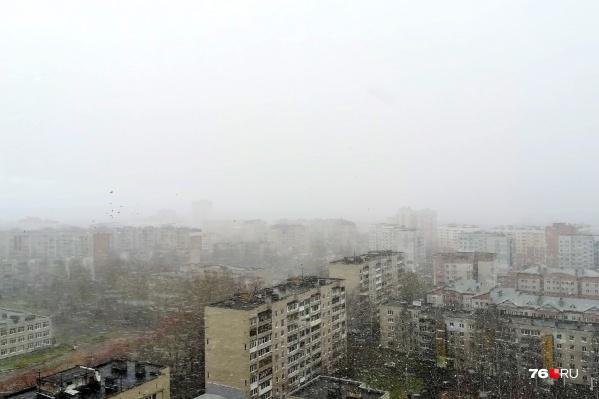Дождь в Ярославле превратится в снег
