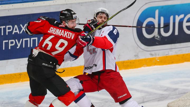 Форварда ЦСКА оштрафовали на 30 тысяч за то, что он ударил по лицу игрока «Авангарда»