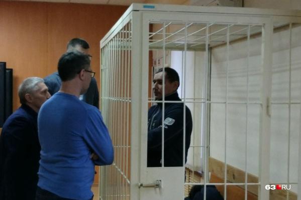 Интересы Константина Наумова на заседании по выбору меры пресечения представляли три адвоката