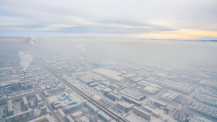 Усс объявил о заметном снижении выбросов в Красноярске