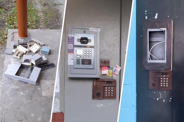 В Челябинске начались домофонные войны —демонтировано более 1000 устройств в разных районах города