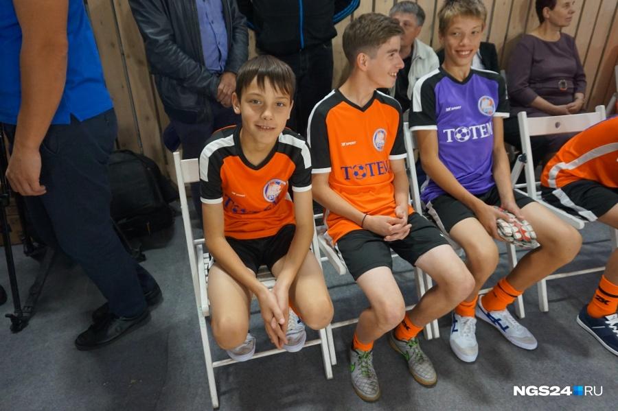 Путин поздравил воспитанников клуба «Тотем» соткрытием спортивного центра
