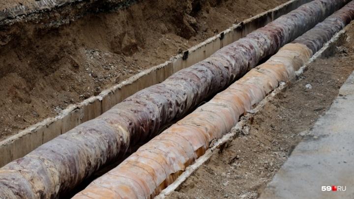 В Перми отключат воду в 67 домах. Карта