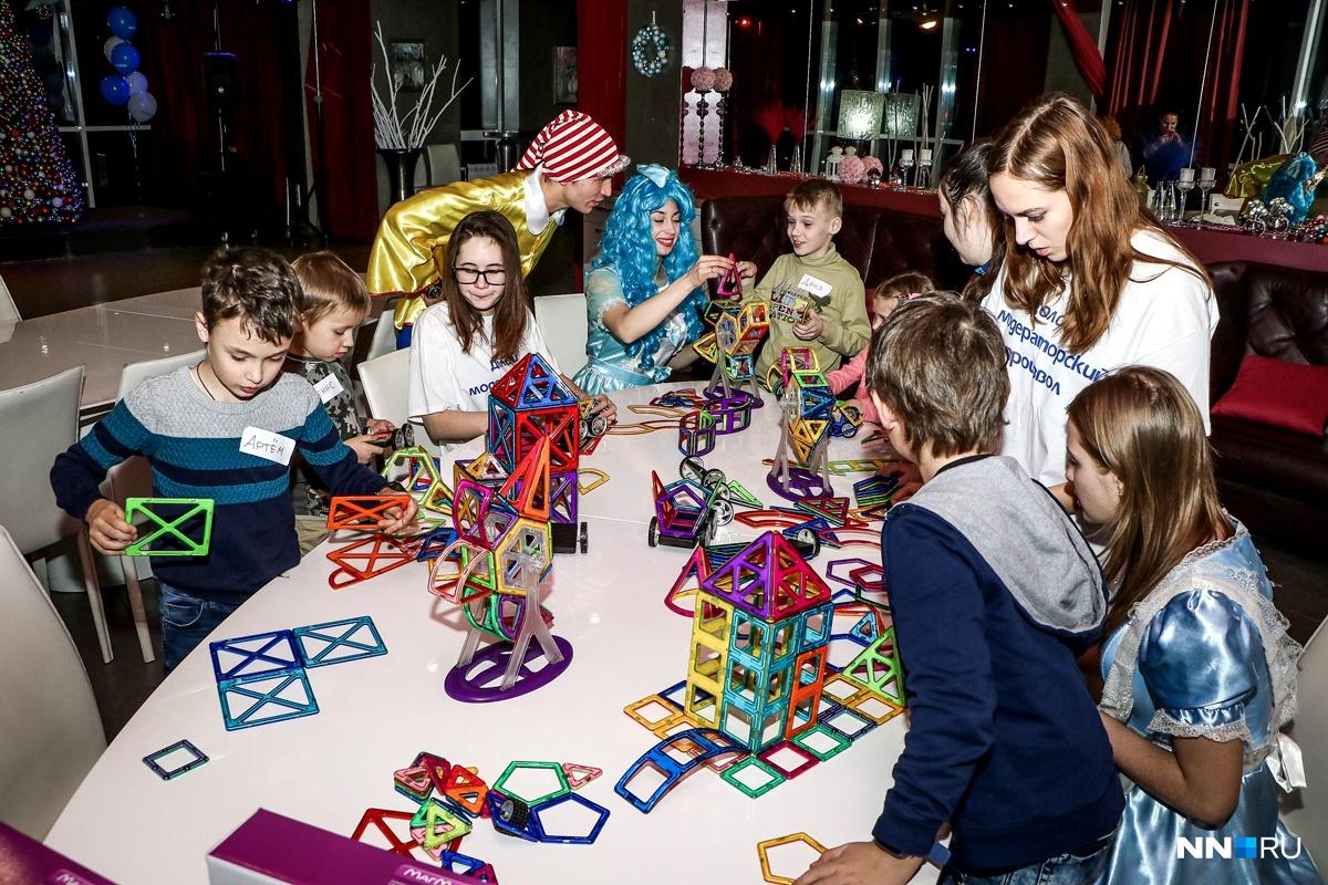 Огромная детская зона и всевозможные развлечения дали возможность и родителям отдохнуть, и детям повеселиться