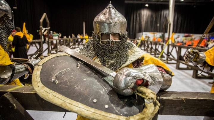 Фоторепортаж: новосибирцы в доспехах устроили средневековые бои