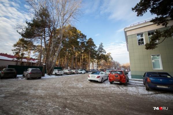 Участок под будущий центр детской хирургии спешно вывели за границы челябинского бора