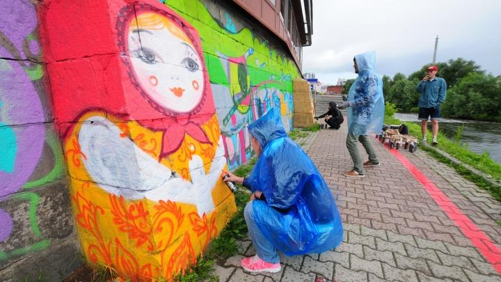 Стенограффия. Взрыв уличного искусства в Екатеринбурге