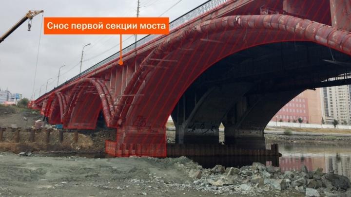 Рушим и достраиваем Макаровский мост: смотрите, как будет проходить 3-летняя стройка