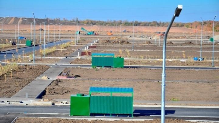 В Мясниковском районе завершено строительство нового городского кладбища