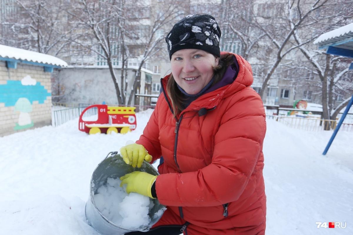 Любовь Новикова за свою жизнь построила сотни самых крутых горок