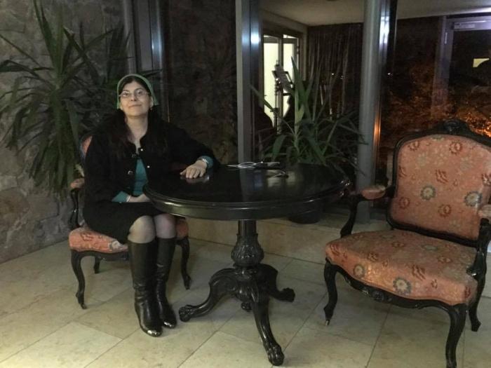 Список женщин, найдённых на территории иракского лагеря, предоставила чеченская правозащитница Хеда Саратова