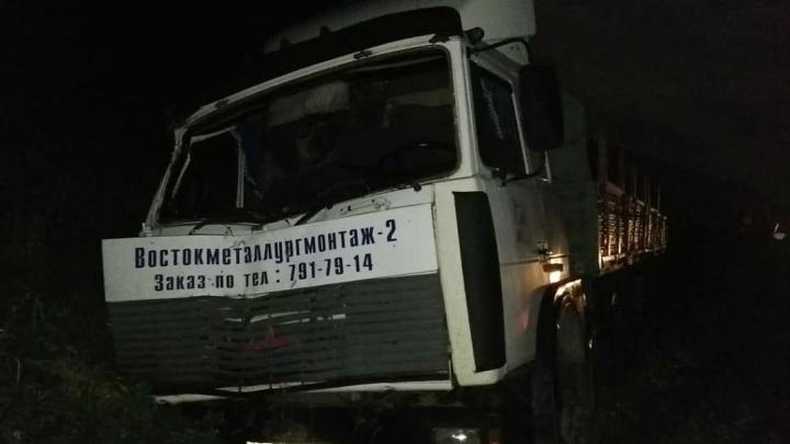 Водителя МАЗа, устроившего ДТП с двумя погибшими в Челябинской области, заключили под стражу