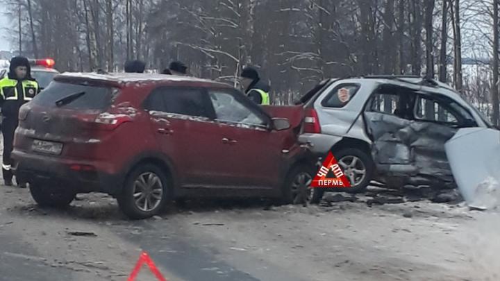 В Перми ищут доноров крови для мужчины, пострадавшего в аварии под Краснокамском