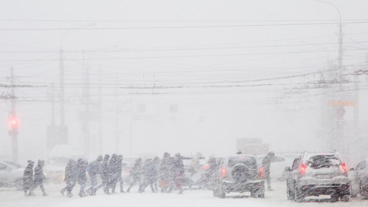 Выпадет много снега: Волгоград расстанется с сильными морозами и накроется осадками