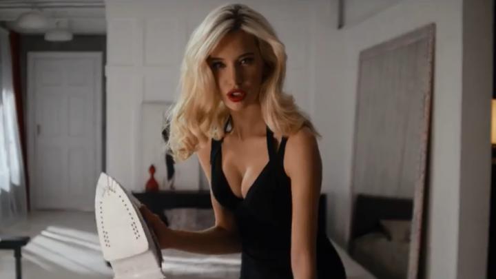 Сексуальная ярославская супермодель снялась в рекламе вместе с Тимати