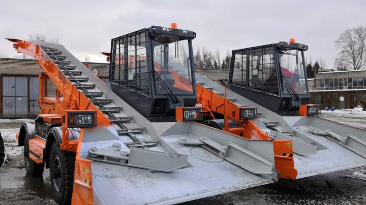 В Самарской области закупили новую снегоуборочную технику