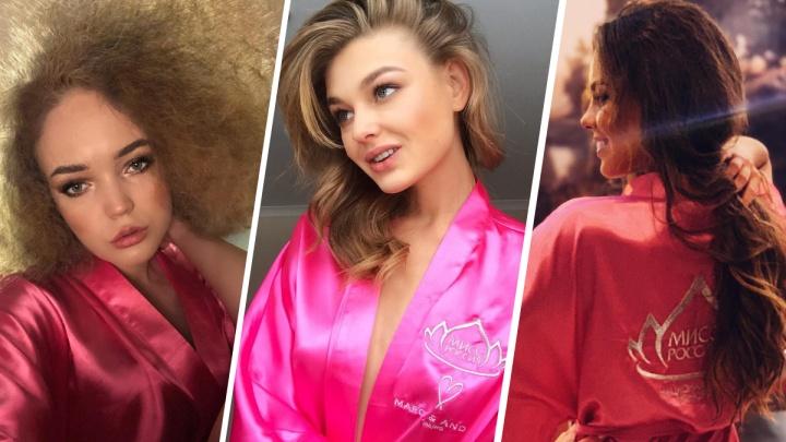 Униформа — розовый халатик. Смотрим, как три нижегородки готовятся к финалу «Мисс Россия»