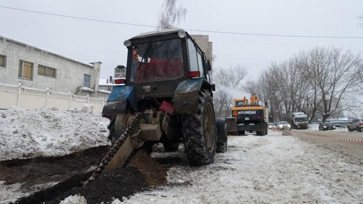 «Ярославльводоканал» заменит 7 километров сетей в рамках проекта «Безопасные и качественные дороги»