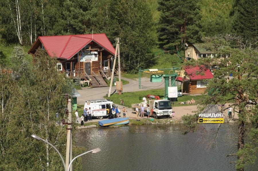 Возере парка вКольцово потонул мужчина